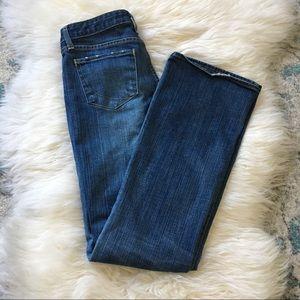 Paper Denim & Cloth | distressed bootcut jean | 28